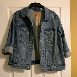 NWT Levi blue jean jacket